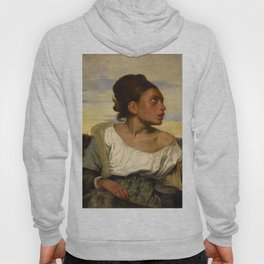 "Eugène Delacroix ""Jeune orpheline au cimetière (The Orphan Girl at the cemetery)"" Hoody"