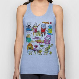 Critter collection Unisex Tank Top
