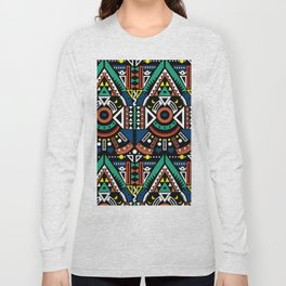 Geometric Power Long Sleeve T-shirt