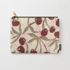 Sweet Cherry Batik Carry-All Pouch