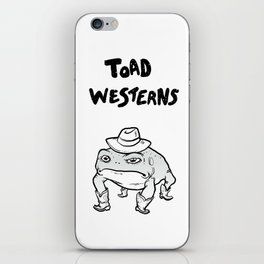 Toad Westerns - To the Point iPhone Skin