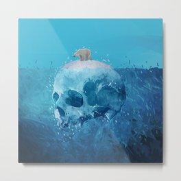 Save the Arctic Metal Print
