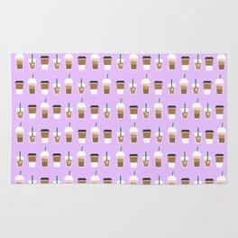 THAT COFFEE ((lilac)) Rug