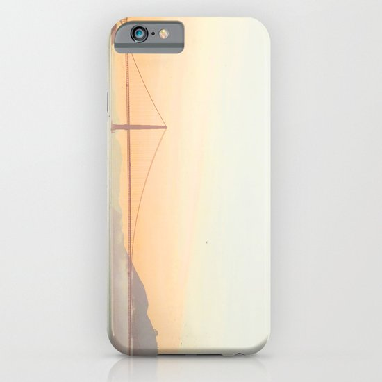 Pastel Golden Gate iPhone & iPod Case