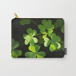 Shamrock Clovers Carry-All Pouch