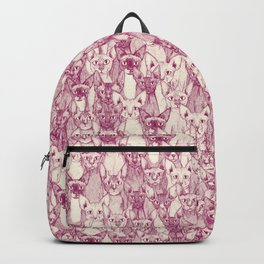 just sphynx cats cherry pearl Backpack
