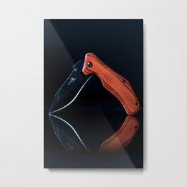 Photograph of a Knife Metal Print