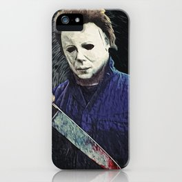 Michael Myers iPhone Case