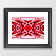 Noel Abstract Framed Art Print