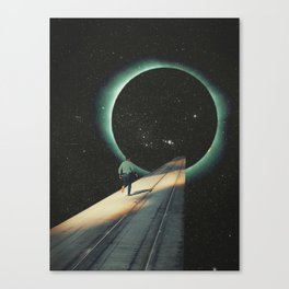 Escaping into the Void Canvas Print