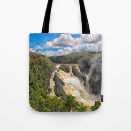 Magnificent Barron Falls in Queensland Tote Bag