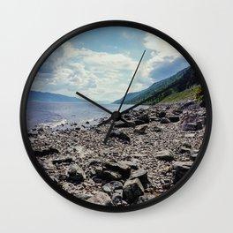 Nessy - Inverness, Scotland Wall Clock