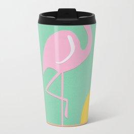 Flamingo Herbert Travel Mug