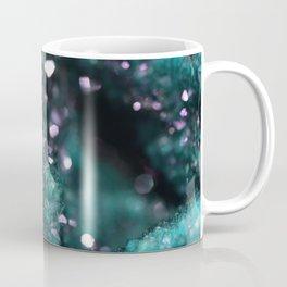 Geode Abstract Aqua Fascination Coffee Mug
