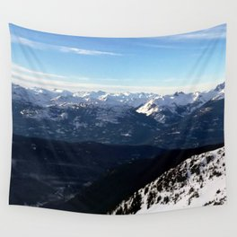 Crispy light air up here Wall Tapestry