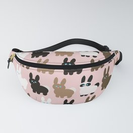Spring bunny rabbits Fanny Pack