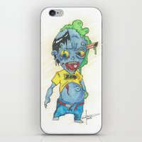 magic the gathering iPhone & iPod Skins featuring Zombie Token - Magic the Gathering by Deadlance