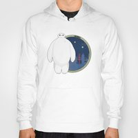 big hero 6 Hoodies featuring Big Hero 6 by Pikeymin