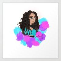 Leigh little mix Art Print