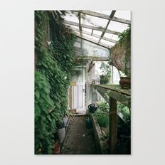 Old Greenhouse Canvas Print