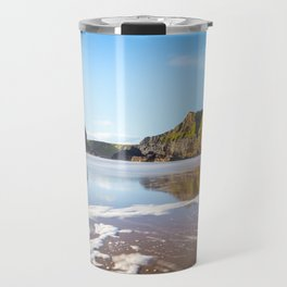 Nun's Beach Reflections Travel Mug