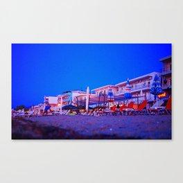 Peraia evening Canvas Print