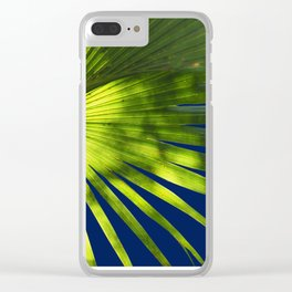 Tropical Plant in the Sun Clear iPhone Case