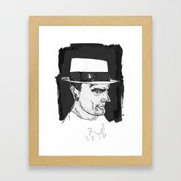 the brit Framed Art Print