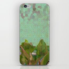 Green Glass Conservatory iPhone Skin