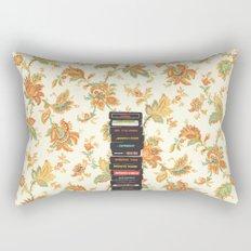 Atari & Flower Wallpaper Rectangular Pillow