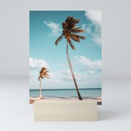Palm Trees Print Mini Art Print