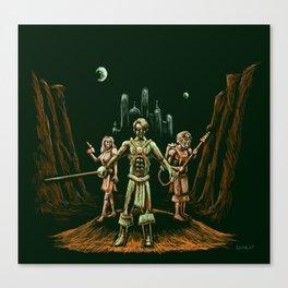 Heroes of Mars Canvas Print