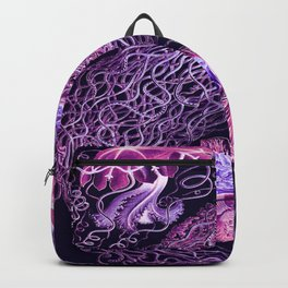 Ernst Haeckel Discomedusae Plate 8 Backpack