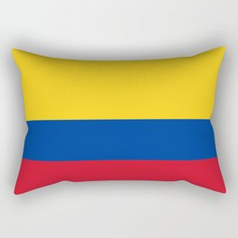 Colombian Flag - Flag of Colombia Rectangular Pillow