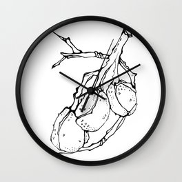 Chestnuts 5 Wall Clock