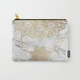 Mandala - Golden drop Carry-All Pouch