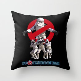 Stormtrooper Busters Throw Pillow