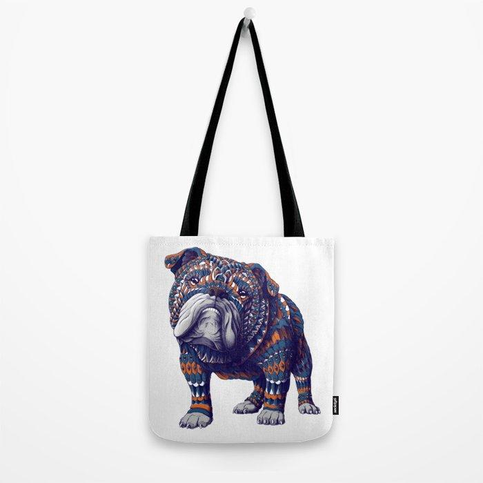 English Bulldog (Color Version) Tote Bag