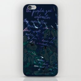 """""""Conquest of the Useless"""" by Werner Herzog Print (v. 11) iPhone Skin"""