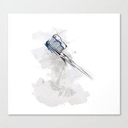 Toothbrush Canvas Print