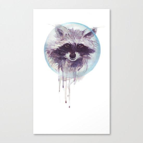 Hello Raccoon! Canvas Print