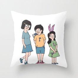 Bob's Burgers - Kids Throw Pillow