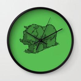 Hedge Hog Wall Clock