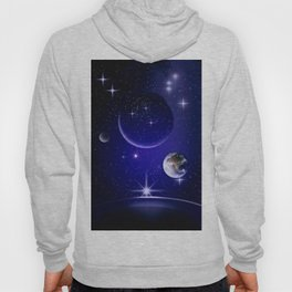 Fantastic yourney into space. Hoody