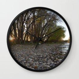 River Run Wall Clock