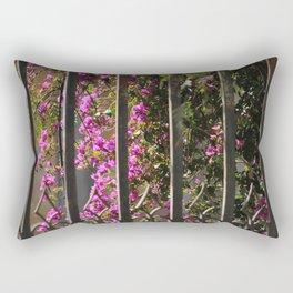 Garden Gate Rectangular Pillow