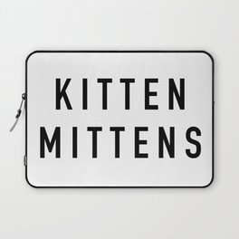 Kitten Mittens Laptop Sleeve