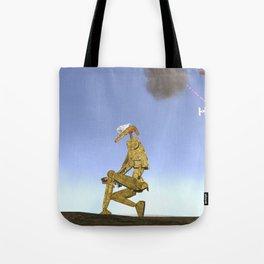 War Stars: Golden Boy Tote Bag
