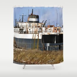 Arthur Atkinson Ferry Shower Curtain
