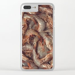 Shrimps Clear iPhone Case